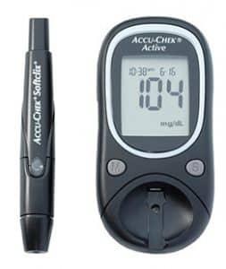 Hình ảnh máy đo đường huyết accu - chek