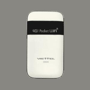 Wifi Router 4G D6606 của viettel hỗ trợ bảo hành 12 tháng