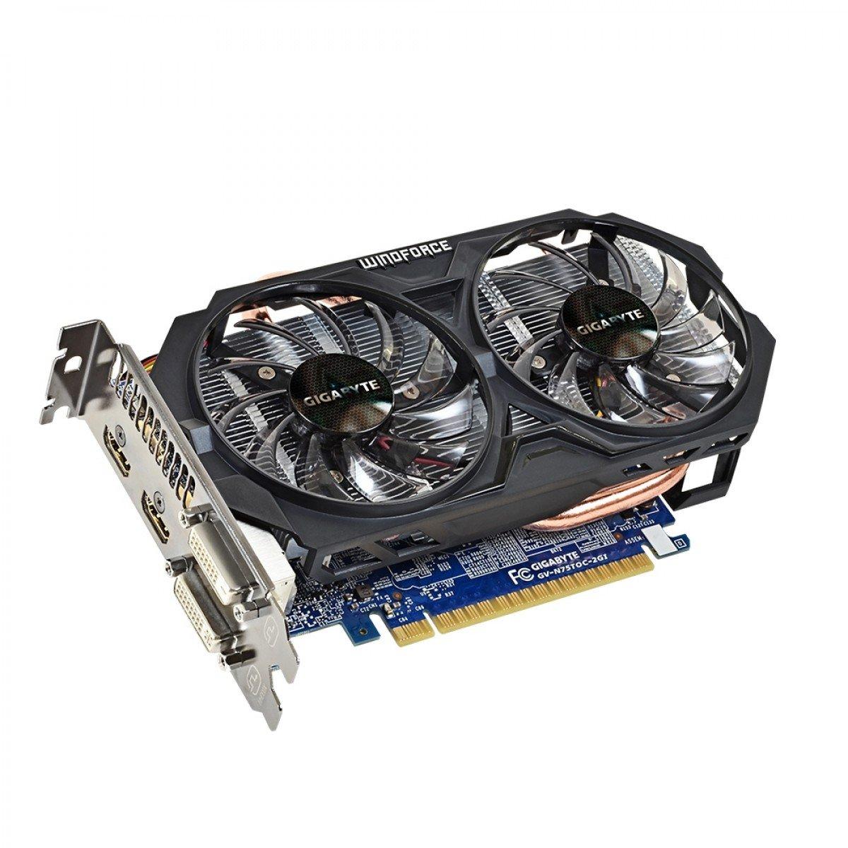 Card GeForce GTX 750 Ti