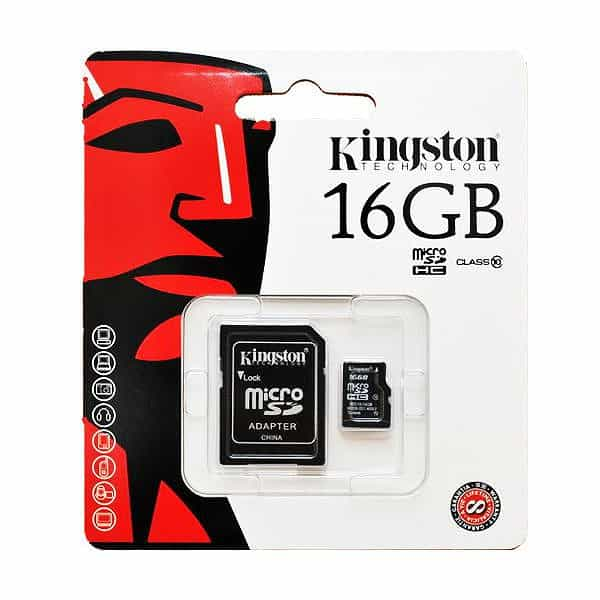 Thẻ nhớ Kingston 16GB Class 10