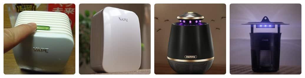 đèn bắt muỗi và đèn đuổi muỗi khác nhau như thế nào