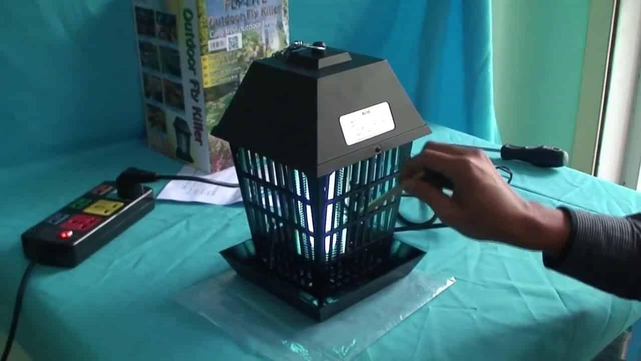 nhu cầu sử dụng đèn bắt muỗi