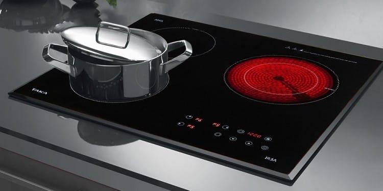 thiết kế của bếp hồng ngoại