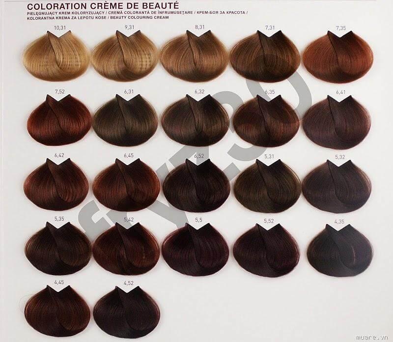 Chất lượng thuốc nhuộm tócKadus