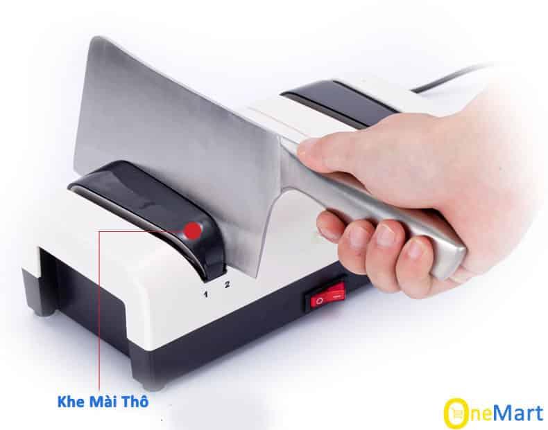Máy mài dao kéo bằng điện Momscook