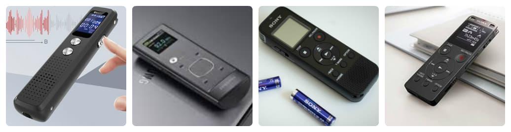 có những loại máy ghi âm nào