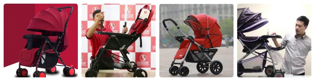 công dụng xe đẩy em bé