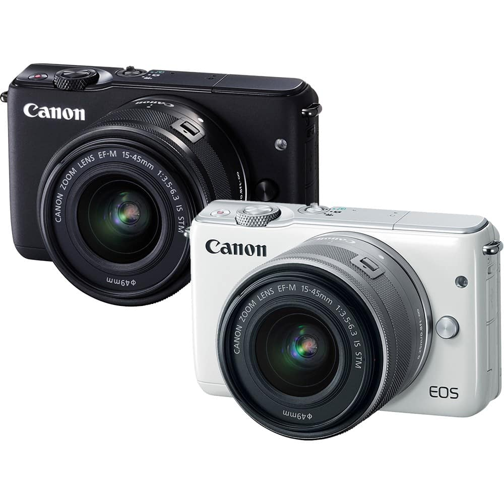 Máy ảnh Canon EOS M10 + kit 15-45