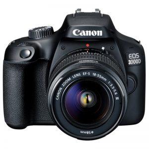 佳能EOS 3000D +镜头EF-S相机18  -  55mm