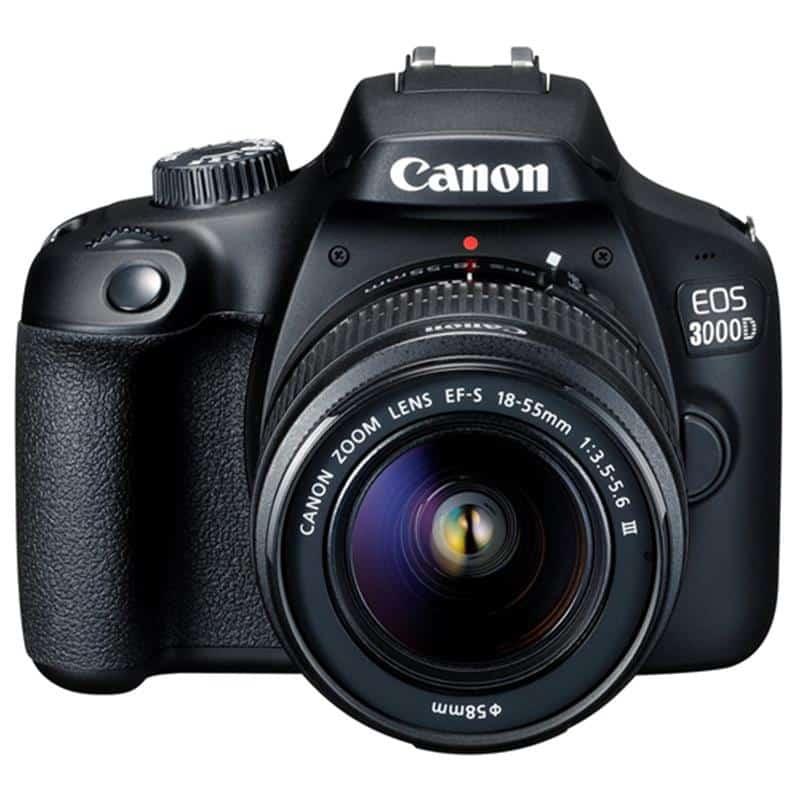 Máy Ảnh Canon EOS 3000D+ Lens EF-S 18 - 55mm