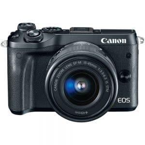 佳能EOS M6 +套件相机15-45