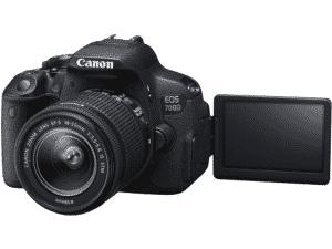 佳能eos 700d相机镜头18-55毫米