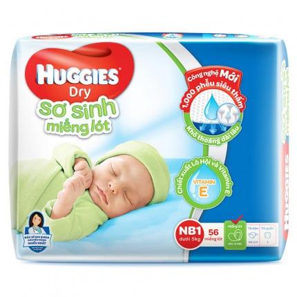 Bỉm cho trẻ Huggies