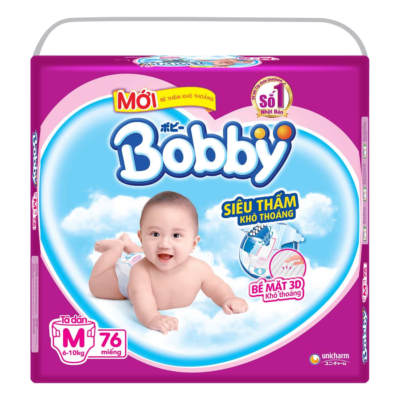 Bỉm cho trẻ Bobby