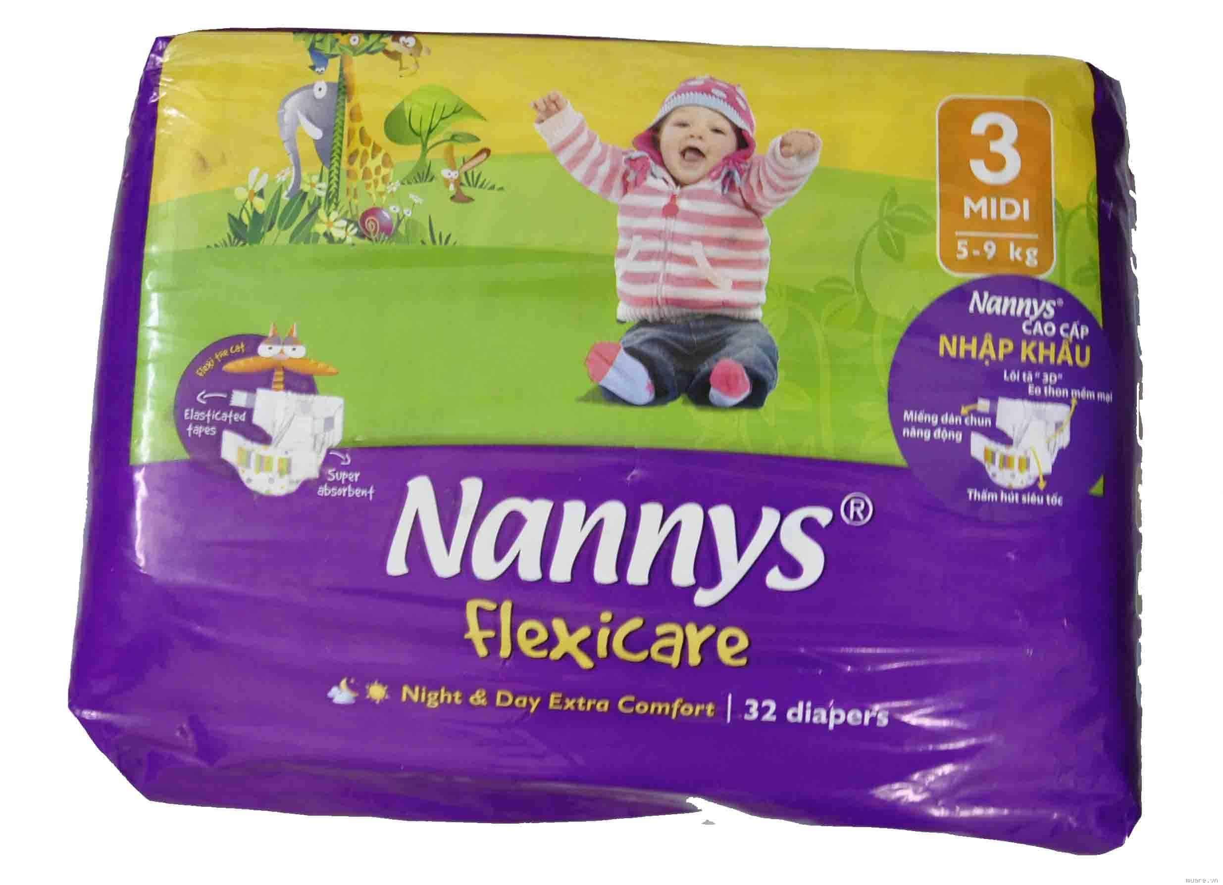 Bỉm cho trẻ Nannys