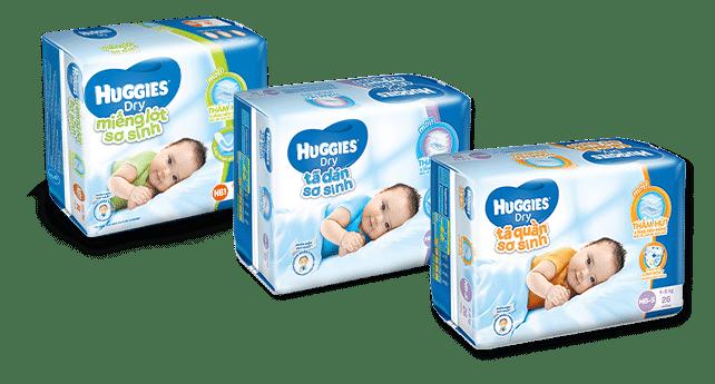 Bỉm cho trẻ sơ sinh tốt nhất