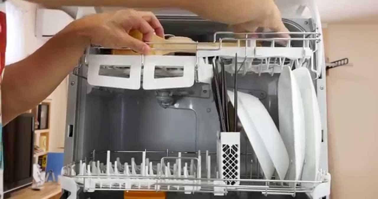 lưu ý tới chất liệu của máy máy rửa bát
