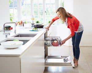 Nguyên lý hoạt động của máy rửa bát
