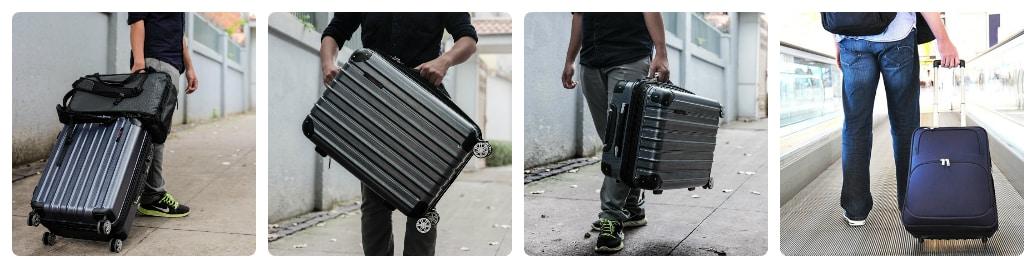 sử dụng vali kéo