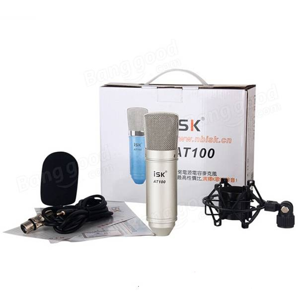 Bộ mic thu âm ISK AT100