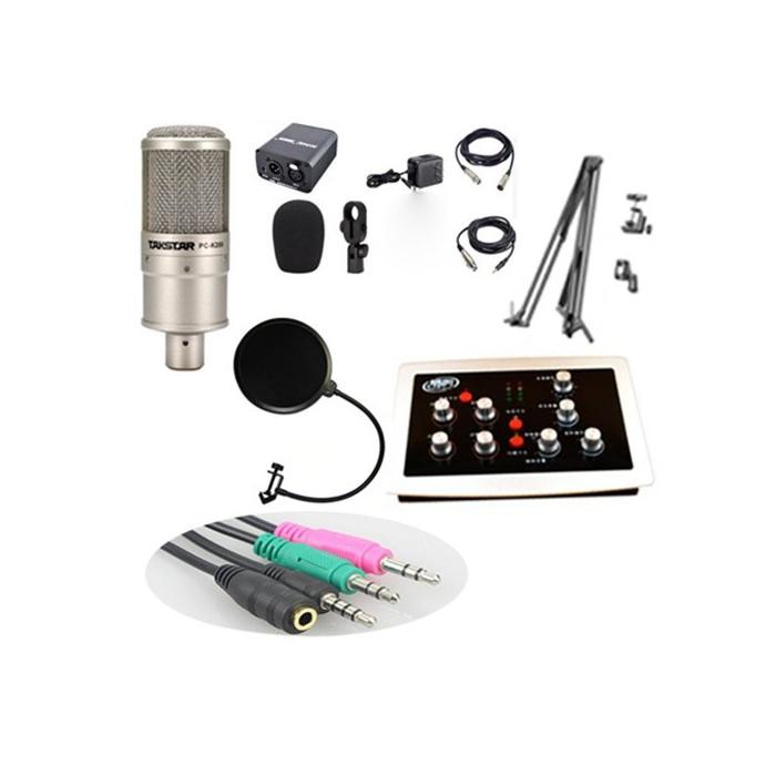 Bộ mic thu âm PC K200