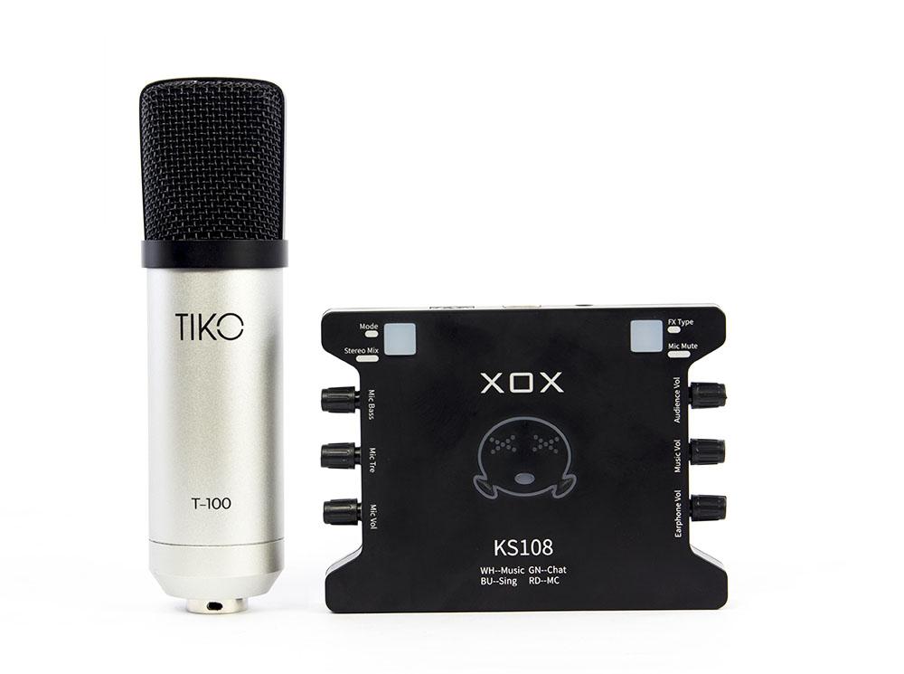 Bộ mic thu âm TIKO T-100