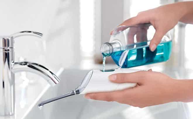chất liệu máy tăm nước đảm bảo