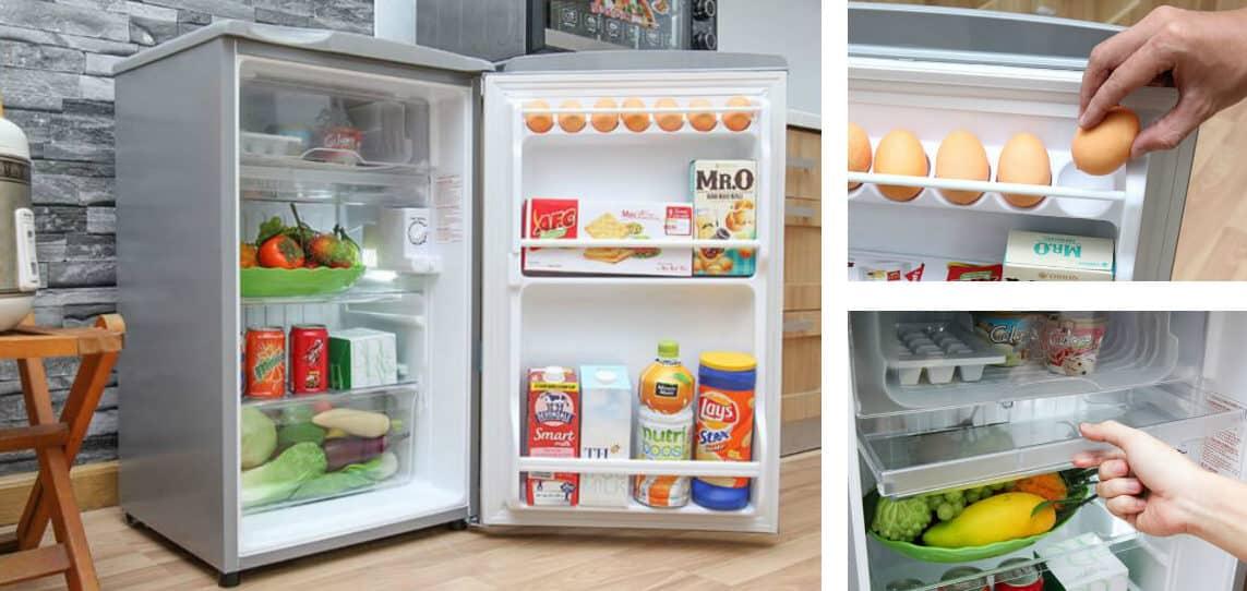 chú ý tới kích thước của tủ lạnh