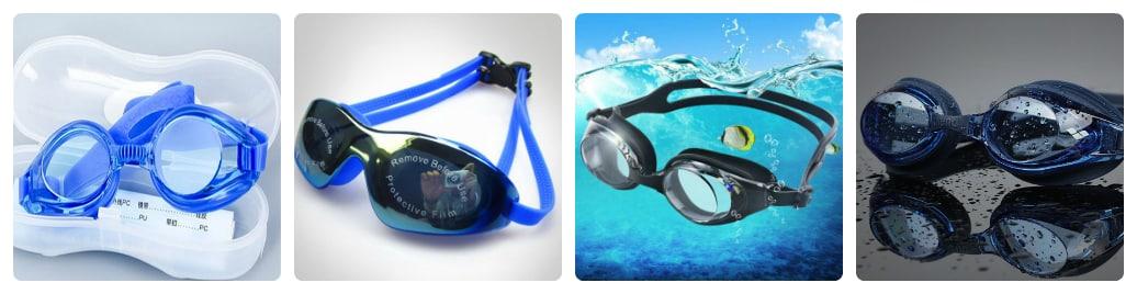 có những loại kính bơi nào