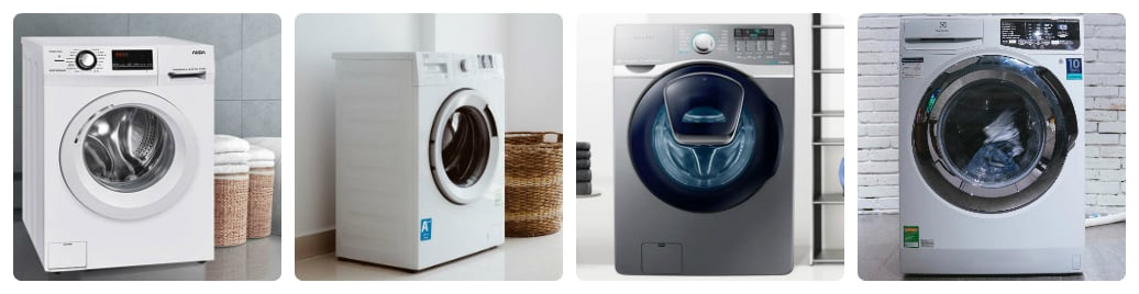 có những loại máy giặt nào hiện nay