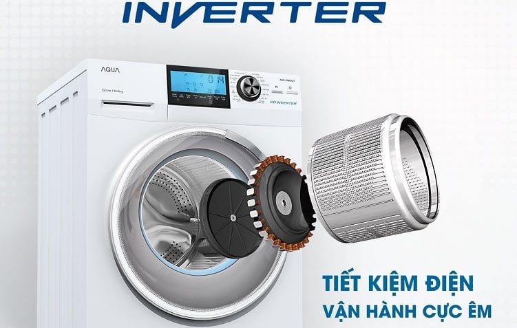 Cuối cùng công nghệ Inverter máy giặt