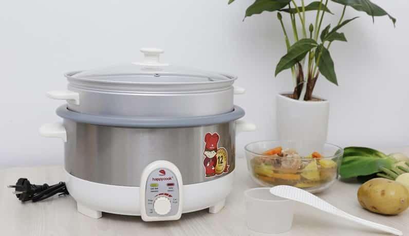 công nghệ nấu của nồi cơm điện