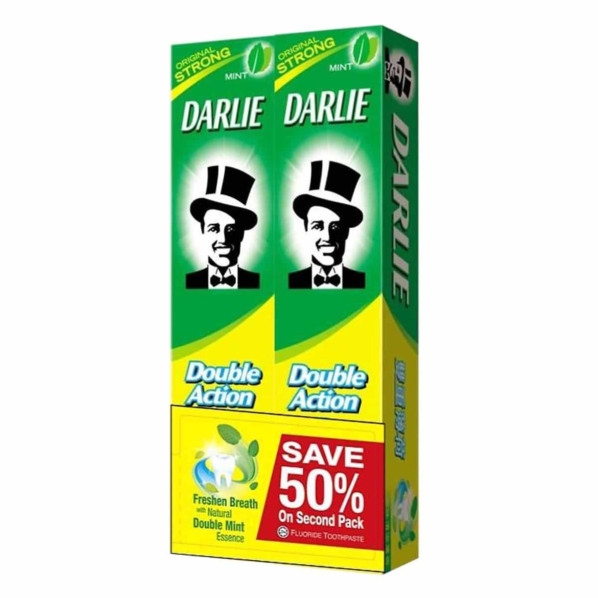 Kem đánh răng Darlie Double Action