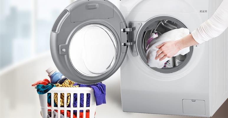 lưu ý tới khối lượng của lồng giặt