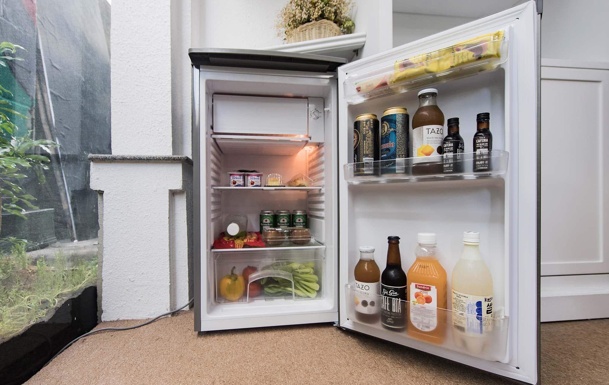 tiếng độ ồn của chiếc tủ lạnh mini