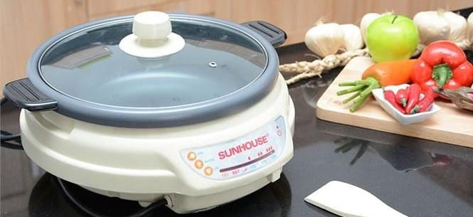ưu điểm bếp lẩu điện