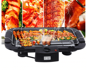 bep nuong khong khoi electric Barbecue Grill 2000W