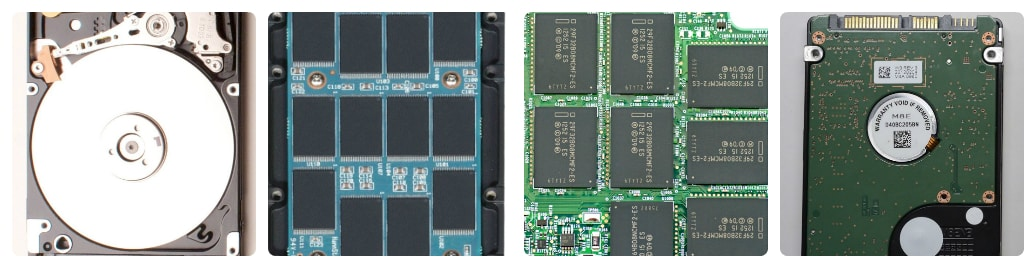 cấu tạo của ổ cứng ssd