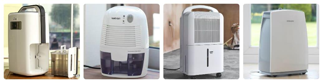 có những loại máy hút ẩm nào hiện nay