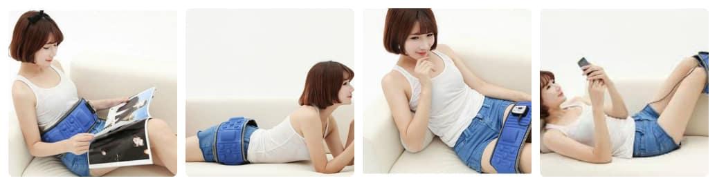 đai massage bụng có hiệu quả không