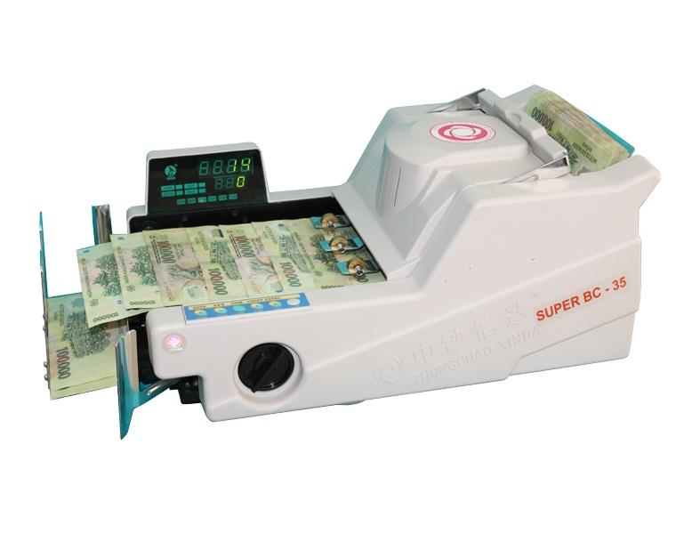 Máy đếm tiền Xinda