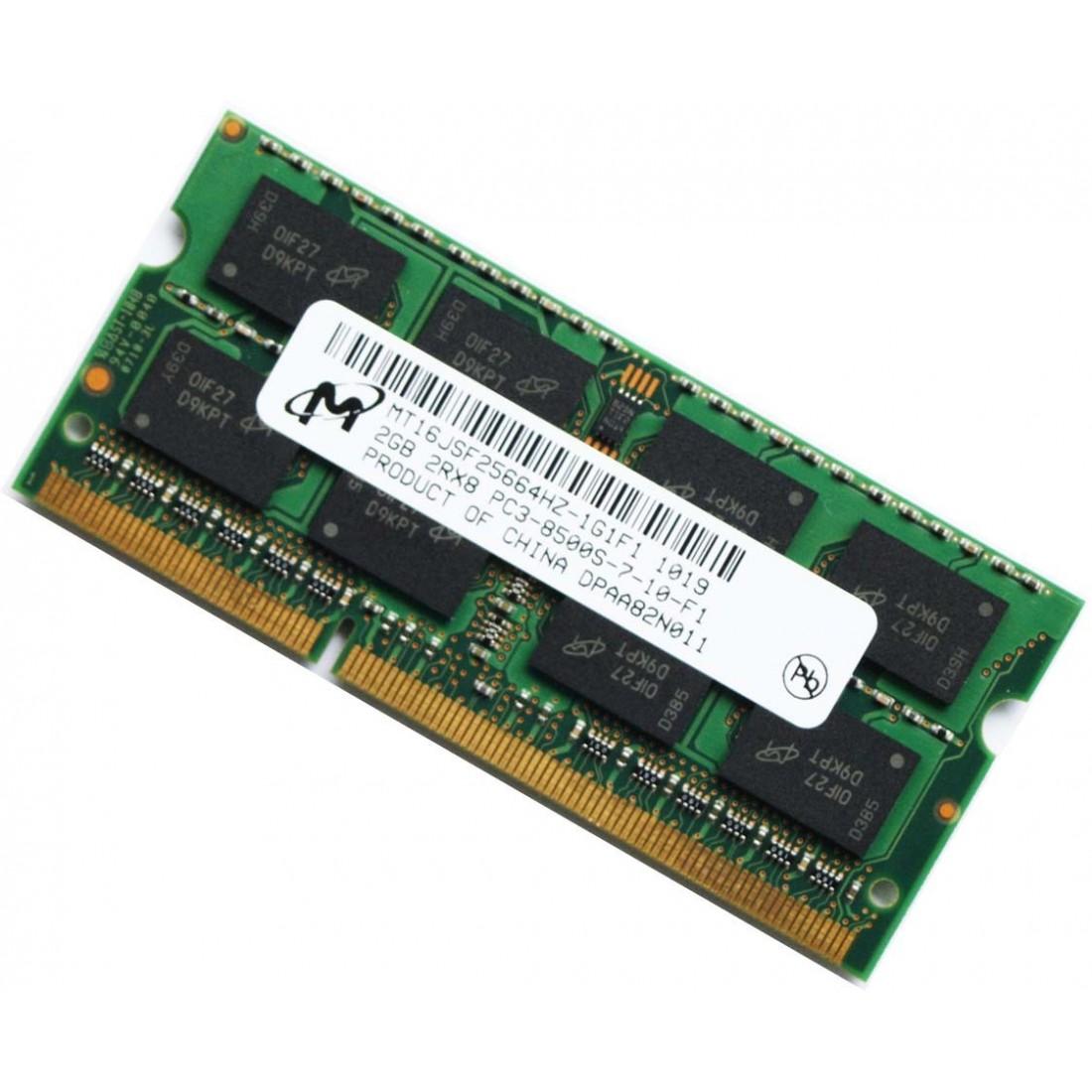 Cấu hình Ram laptop