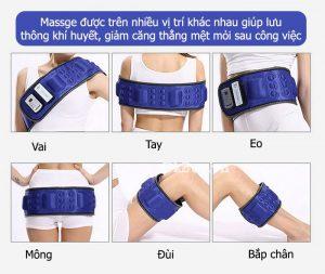 Tác dụng của đai massage bụng