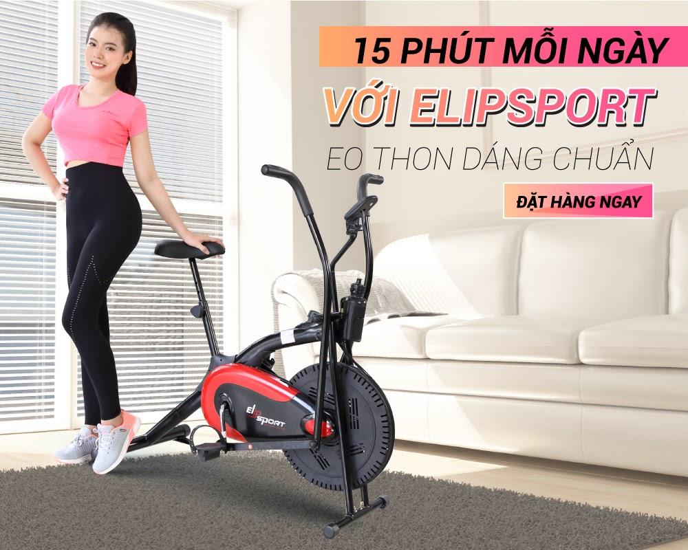 Xe đạp thể dục Elipsport