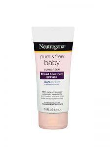 Kem Neutrogena Pure & Free Baby