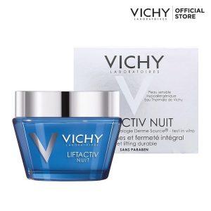 Kem duong am cho da kho Vichy Liftactive Nuit