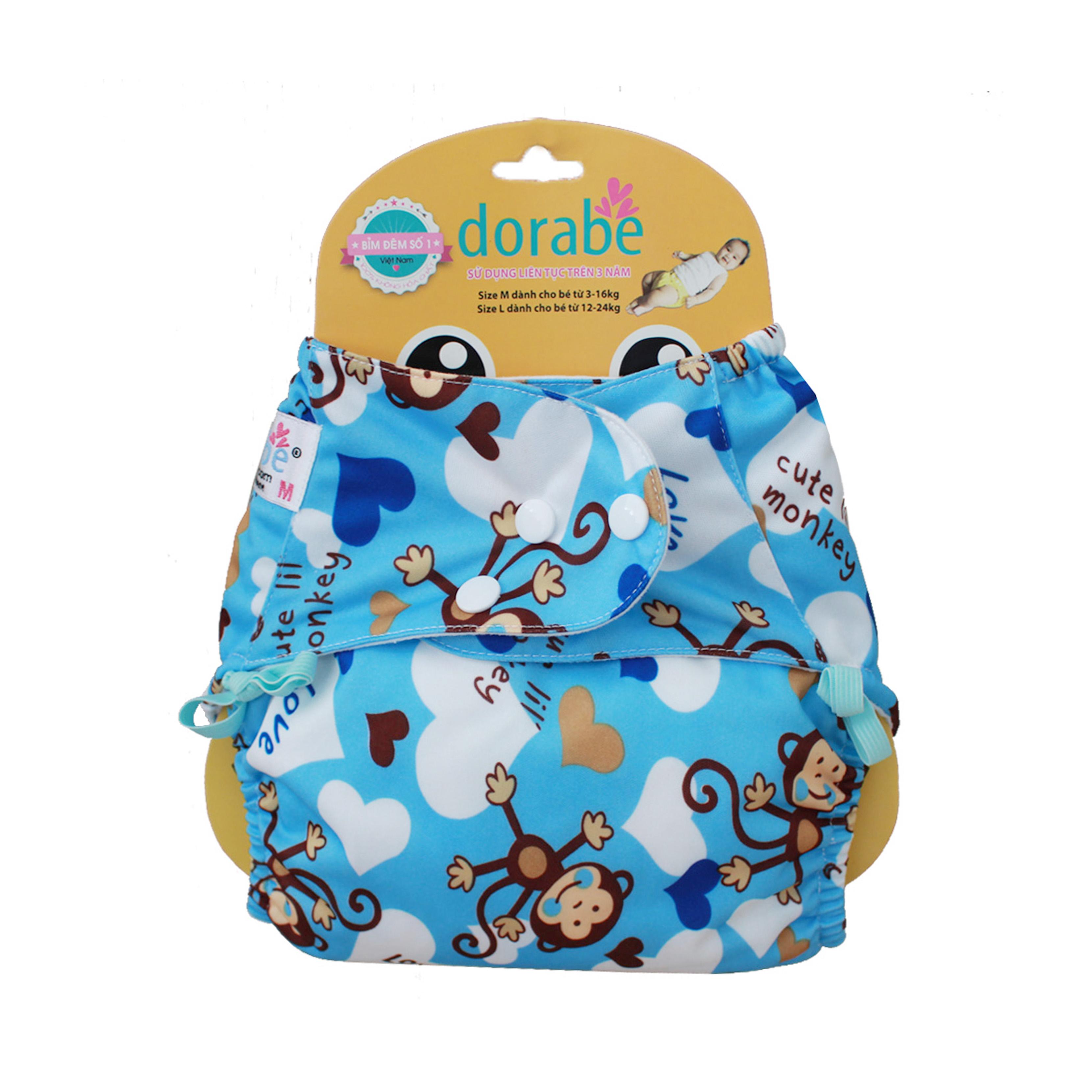 Bỉm vải cho bé Dorabe