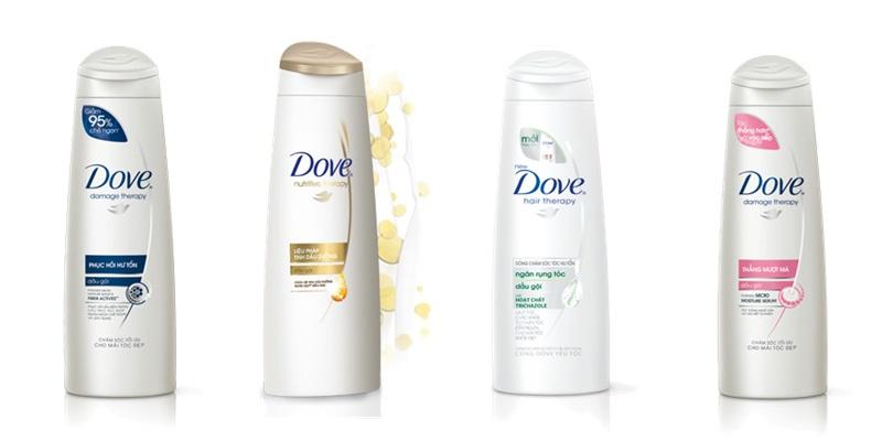 Dầu gội đầu hãng Dove