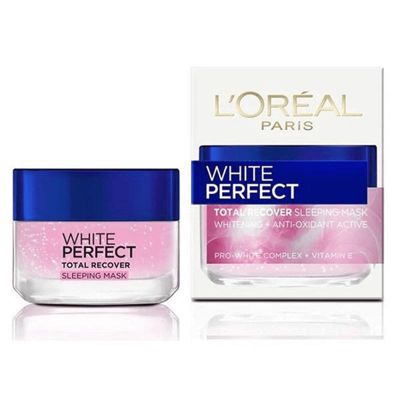 Bộ mặt nạ dưỡng da LOreal White Perfect