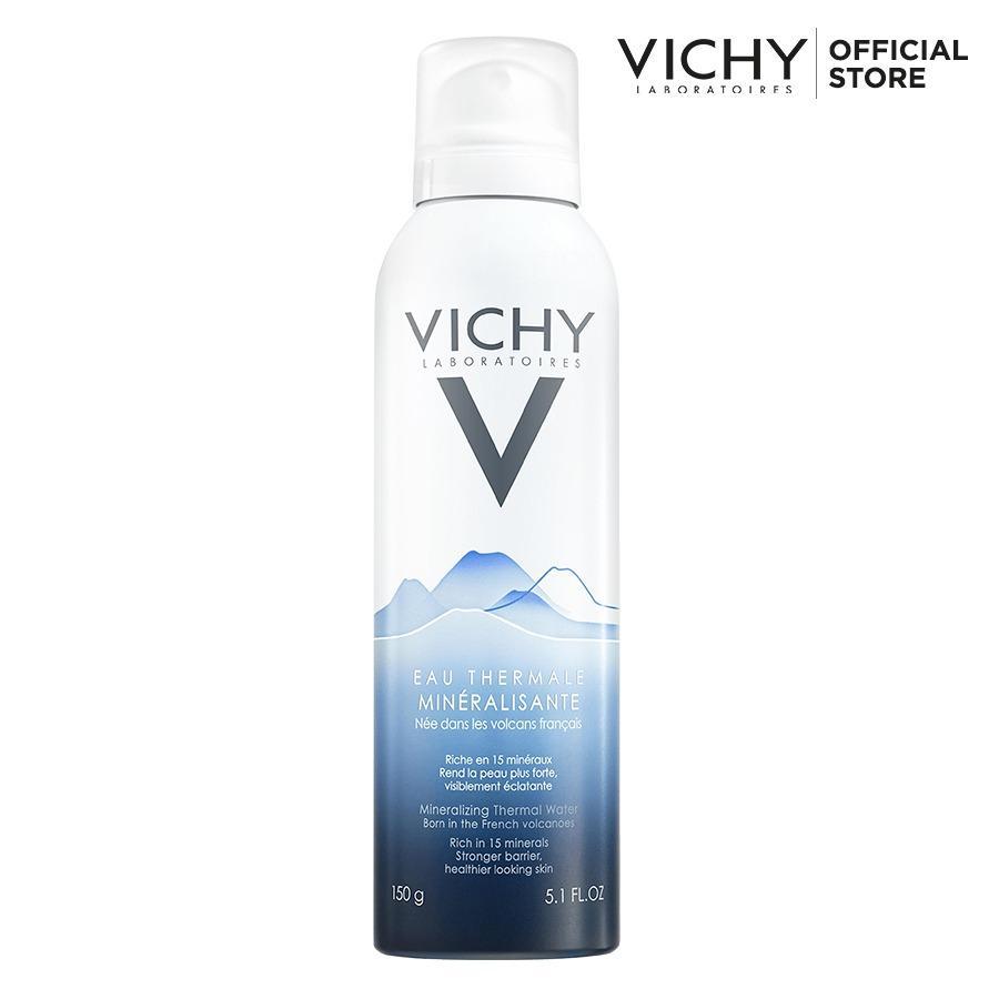 Nước xịt khoáng dưỡng da Vichy 150ml